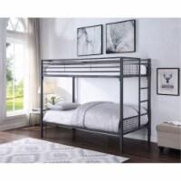 Ergode Twin/Twin Bunk Bed Sandy Black - 1