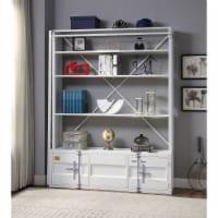 Ergode Bookshelf & Ladder White - 1