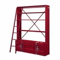 Ergode Bookshelf & Ladder Red - 1