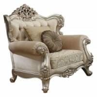 Ergode Chair (w/2 Pillows) Fabric & Champagne - 1