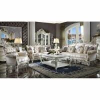 Ergode Sofa (w/7 Pillows) Fabric & Antique Pearl - 1