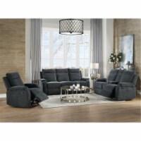 Ergode Sofa (Motion) Slate Blue Chenille - 1