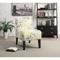 Ergode Accent Chair Pattern Fabric (Bike) - 1