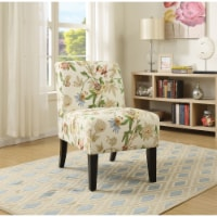 Ergode Accent Chair Floral Fabric - 1