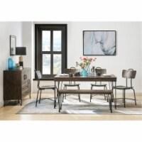 Ergode Dining Table Walnut & Black - 1