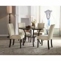 Ergode Dining Table (Round) Walnut - 1