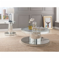 Ergode Coffee Table Mirrored & Faux Stones - 1