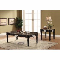 Ergode Coffee Table Marble & Black - 1