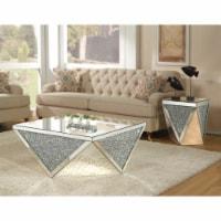 Ergode Coffee Table Mirrored & Faux Diamonds - 1