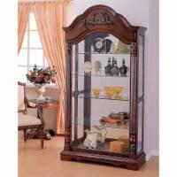 Ergode Curio Cabinet Cherry - 1