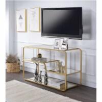 Ergode TV Stand Gold & Mirror - 1