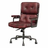 Ergode Executive Office Chair Vintage Merlot Top Grain Leather - 1
