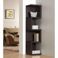 Ergode Bookcase - Large S Shelf Espresso - 1