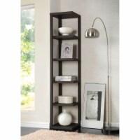 Ergode Bookcase Cappuccino - 1