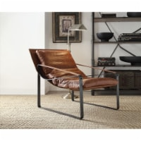 Ergode Accent Chair Cocoa Top Grain Leather - 1