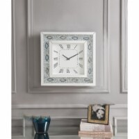 Ergode Wall Clock Mirrored & Faux Agate - 1