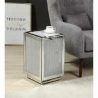 Ergode Accent Table Mirrored & Faux Diamonds - 1