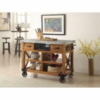 Ergode Kitchen Cart Antique Oak - 1