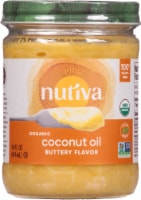 Nutiva Organic Buttery Flavor Coconut Oil - 14 fl oz