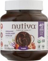 Nutiva® Organic Gluten Free Hazelnut with Cocoa Dark Spread - 13 oz