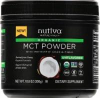 Nutiva Organic MCT Powder with Prebiotic Acacia Fiber - 10.6 oz