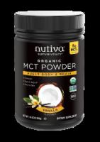 Nutiva MCT Powder with Prebiotic Acacia Fiber - Vanilla - 10.6 oz