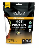 Nutiva MCT Plant Based Vanilla Protein Shake Mix - 13.76 oz