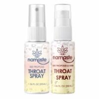 Namaste Bee Propolis Life Throat Spray 2pc Bundle Natural Immunity Boosting - 1 unit