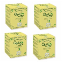 Quit Tea Stop Smoking Aid Tea Bags 20ct 4-Pack Natural Healthy Herbal Supplement Holistic - 1 unit