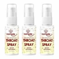 Namaste Bee Propolis Soothing Throat Spray 3-Pack Natural Immunity Boosting - 1 unit