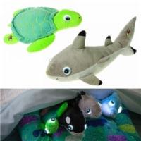 NightBuddies Baby Sea Turtle & Shark 2-Pack Light-Up Plush Animal Toy Set Cortex Toys - 1 unit