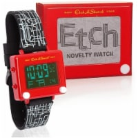 Etch-A-Sketch Wrist Watch Official Classic Magic Screen Digital Novelty Spin Master - 1 unit