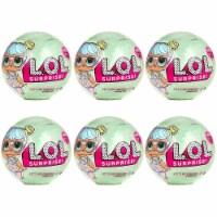 L.O.L. Surprise! Series 2 Wave 1 Bon Bon 6pk Big Sister Outrageous LOL Doll Mystery - 1 unit