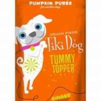 Tiki Pets 25111271 Tummy Topper Pumpkin & Ginger Dog Food - 1.5 oz - 1