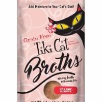 Tiki Pets 25111330 1.3 oz Beef Cat Broth