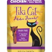 Tiki Pets 25111257 Aloha Chicken Pumpkin & Duck Cat Food - 2.5 oz - 1