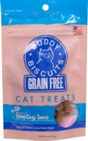 Cloud Star  Buddy Biscuits™ Cat Treats Grain Free   Tempting Tuna