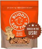 Cloud Star Buddy Biscuits, Soft & Chewy Treats for S & Large Dog, Peanut Flavor 6 oz, 4 Pack - 1