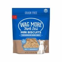 Wagmore 25072906 7 oz Grain Free Mini Baked Beef & Bacon Dog Food - 1