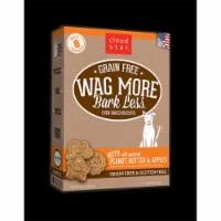 Wagmore 25072907 7 oz Grain Free Mini Baked Peanut Butter & Apple Dog Food - 1