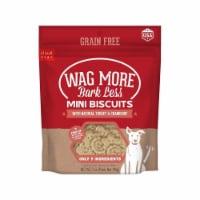 Wagmore 25072908 7 oz Grain Free Mini Baked Turkey Dog Food - 1