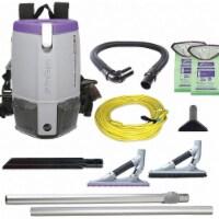 Proteam Backpack Vacuum,Reusable Bag,11.6 lb. - 1