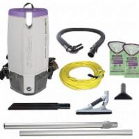 Proteam Backpack Vacuum,Reusable Bag,12 lb. - 1