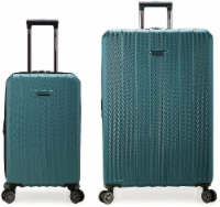 Traveler's Choice Dana Point Expandable Hard-Shell Luggage Set with USB Port - Spruce