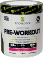 Bodylogix Natural Pink Lemonade Pre-Workout Powder