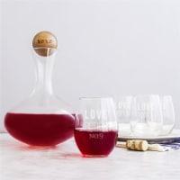 Cathys Concepts V17-S2221LP Love Potion Wine Decanter Set