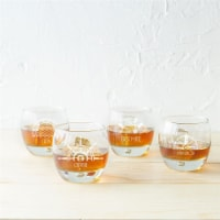 Cathys Concepts 10.75 oz Nautical Heavy Based Whiskey Glasses