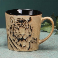 Unison Gifts TCD-452 Tiger Face Mug - 16 oz. - 1