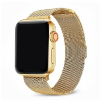Infinity Gold Stainless Steel Band for Apple Watch Series 1,2,3,4,5,6 & SE - Size 42mm/44mm - 42mm/44mm