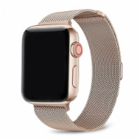 Infinity Rose Gold Stainless Steel Band for Apple Watch 1,2,3,4,5,6 & SE - Size 38mm/40mm - 38mm/40mm